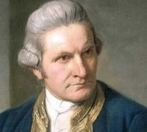 Captain James Cook was born on October 27, 1728