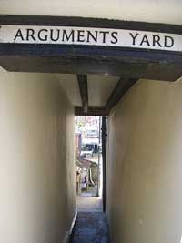 Arguments yard which has often been the subject for artists.