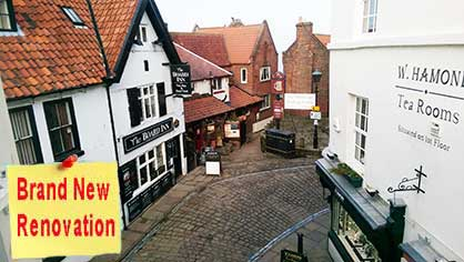 Caedoms Rest Whitby sleeps 2 people and pets are ok