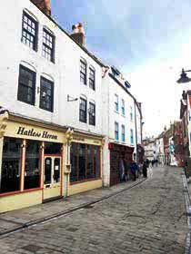 Herons Nest apartment on Church Street in Whitby on sleep up to eight people