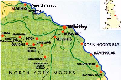 whitby cosline map