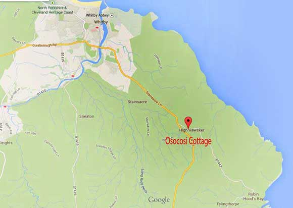 osocoi  ccottage map
