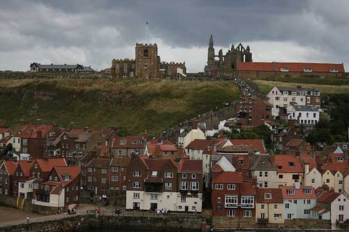 Whitby Abbey and St Mary's Church