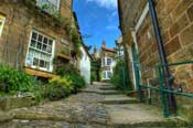 Robin hoods Bay back alley