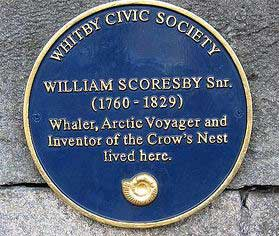 Scoresby House inventor of the crows nest in Whitby
