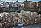 Staithes lobster pots