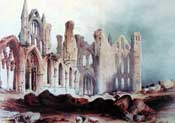 painting of Whitby Abbey