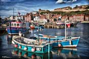 Whitby harbour with thoughts