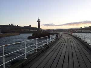 Whitby-pier