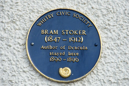 Bram Stoker  stayed on The Royal Crescent while writing his famouse book Dracula