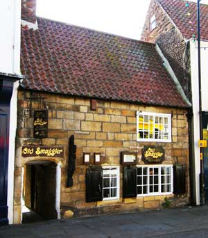 Smugglers Inn next to Loggerhead yard in whitby