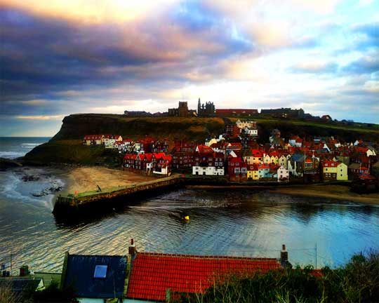 Whitby East side view